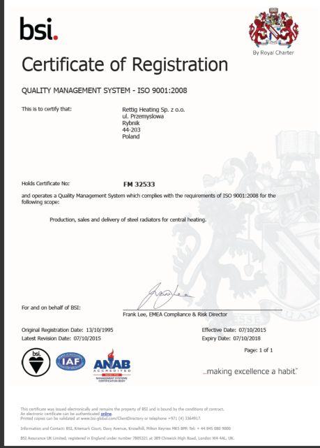 купить сертификат ИСО 9001 2008 в Нижневартовске