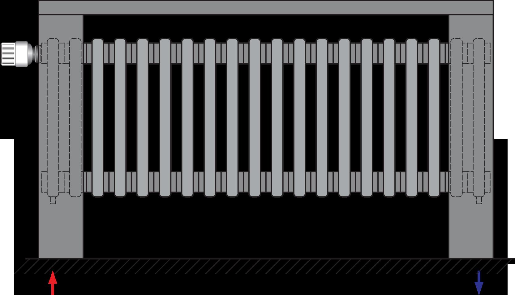 Delta Column Bench V   PURMO