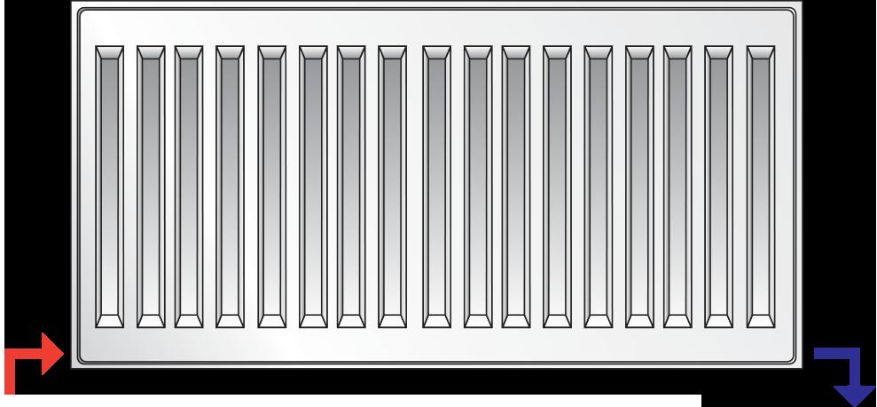 PURMO VENTIL COMPACT Тип11 500x400 (437 Вт)