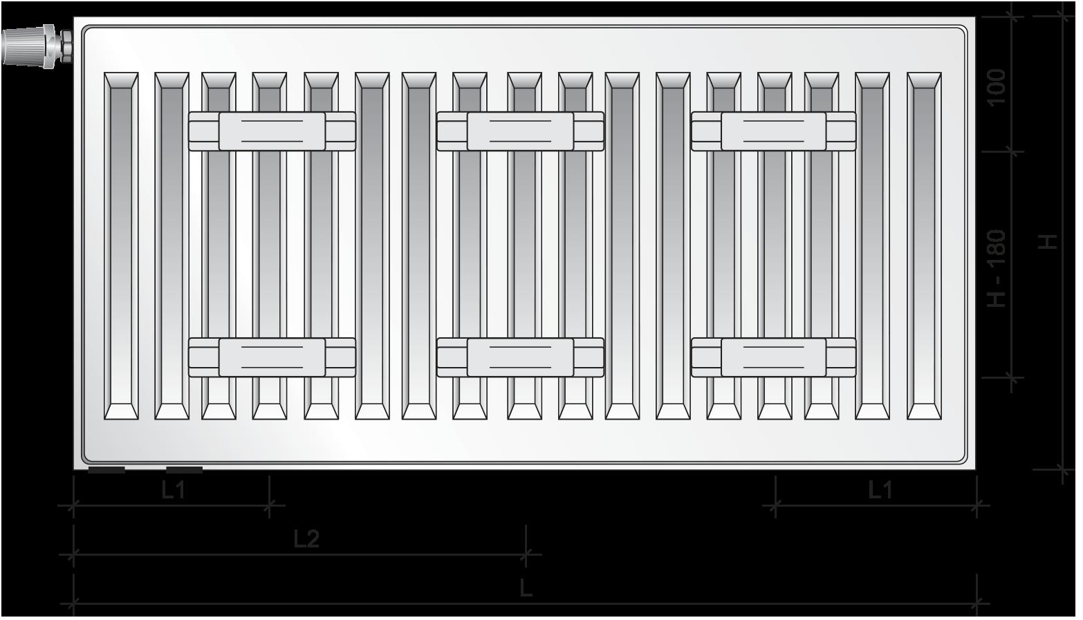 PURMO Ventil Compact | PURMO