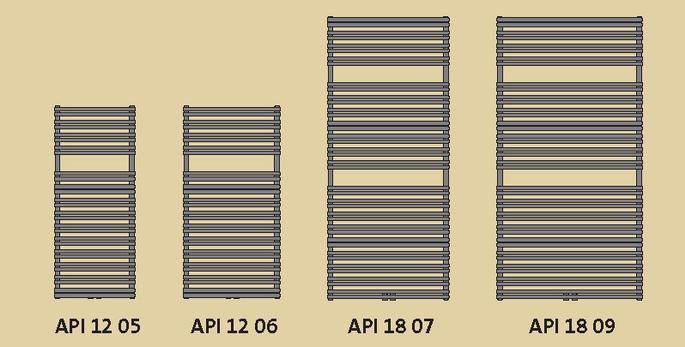Grzejnik łazienkowy Apia