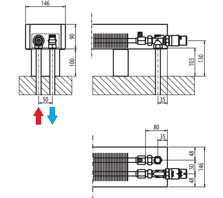 Aura Comfort Purmo 57 08 Wiring Diagram Prs Height 09 90 Mm