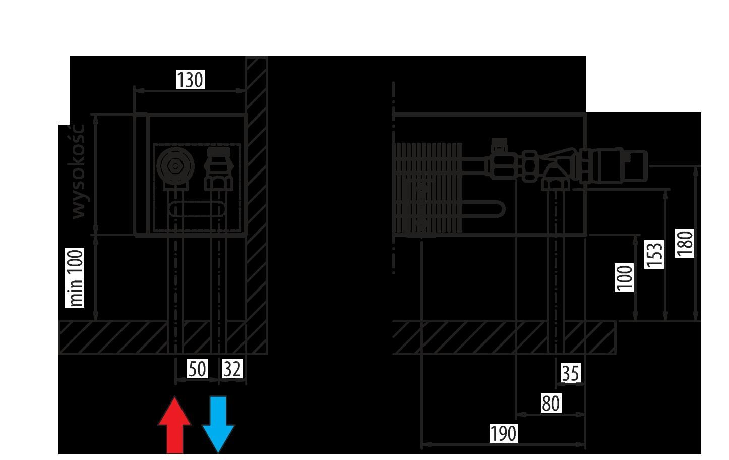 Aura Slim Basic Purmo 57 08 Wiring Diagram Prs Installation From The Floor
