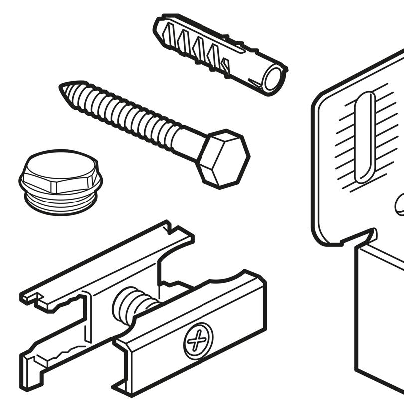 Accessoires pour radiateurs design/décoratifs