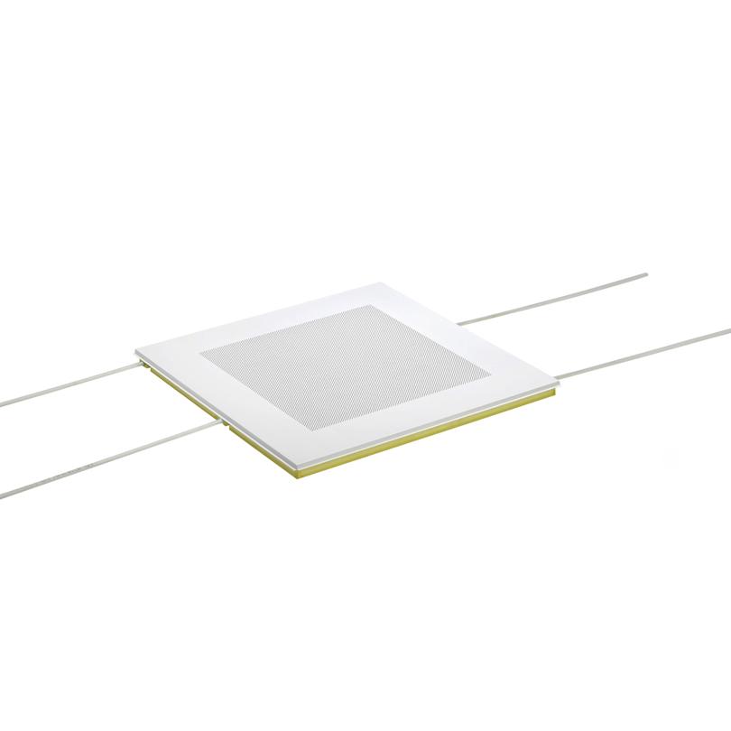Ray Module Quadrotto radiante metallico forato