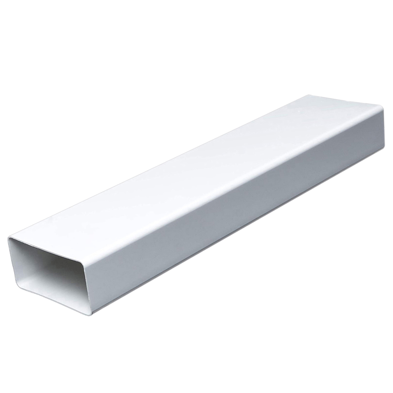 Canale piatto in PVC