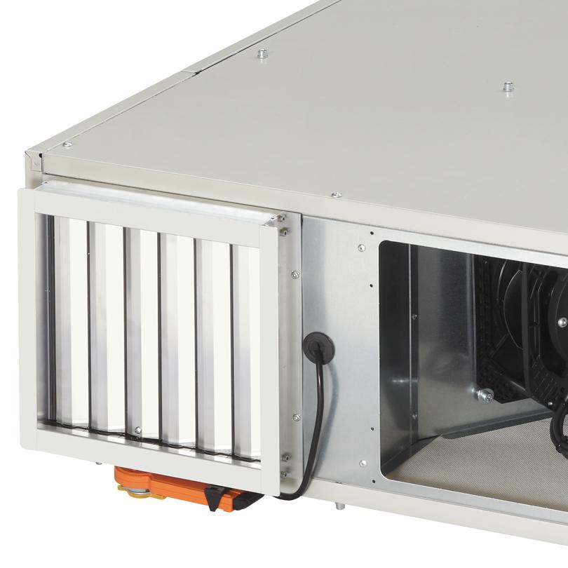 Ventilazione con recupero di calore centralizzata