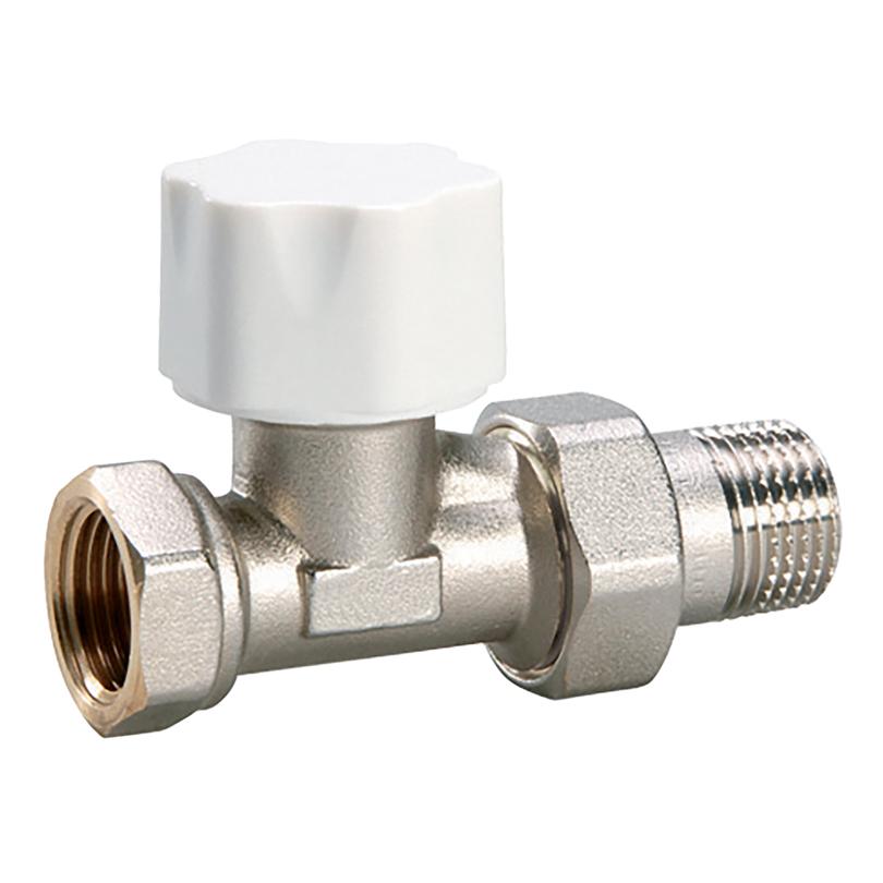 """Valvola termostatica diritta 3/8"""" per tubo ferro"""