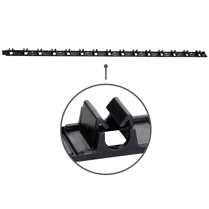 Guida per ancoraggio tubo Ø 12 mm
