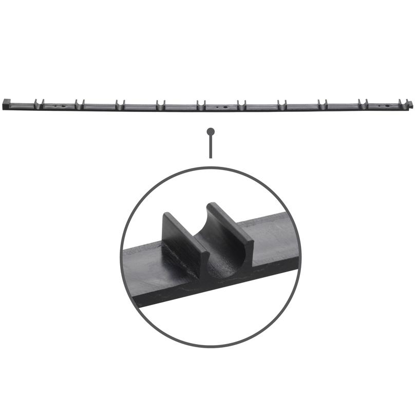 Guida per ancoraggio tubo Ø 8 mm