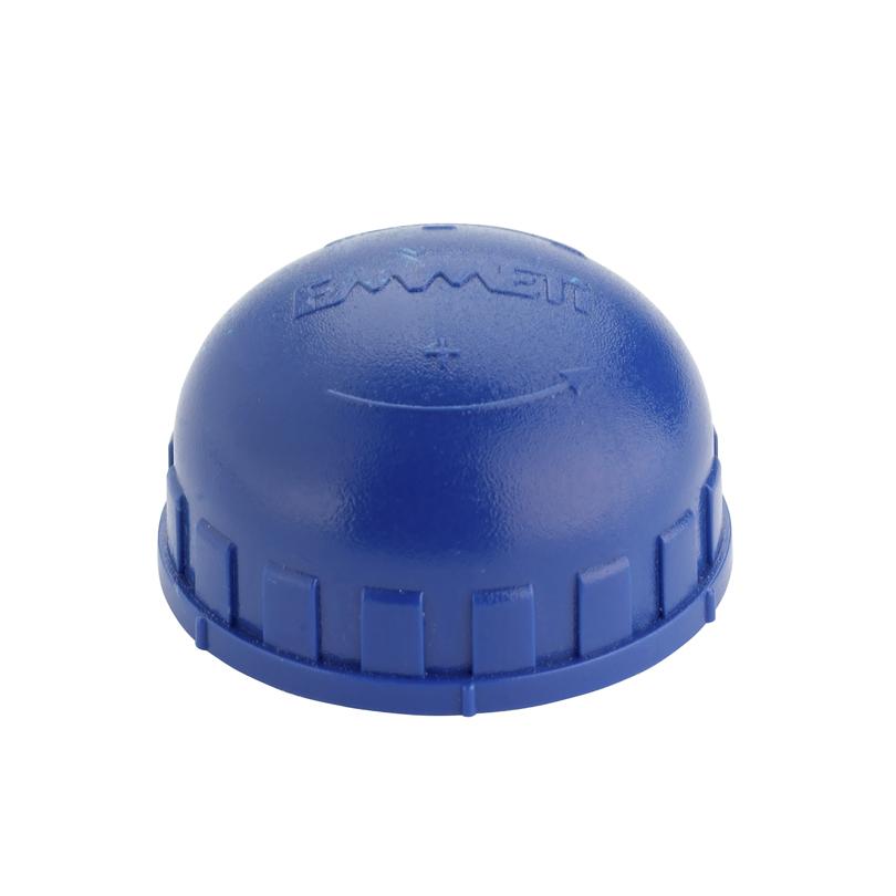 Cappuccio blu per valvole