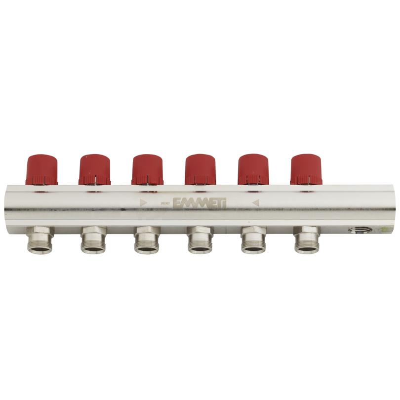 Topway - collettore barra di mandata con detentori