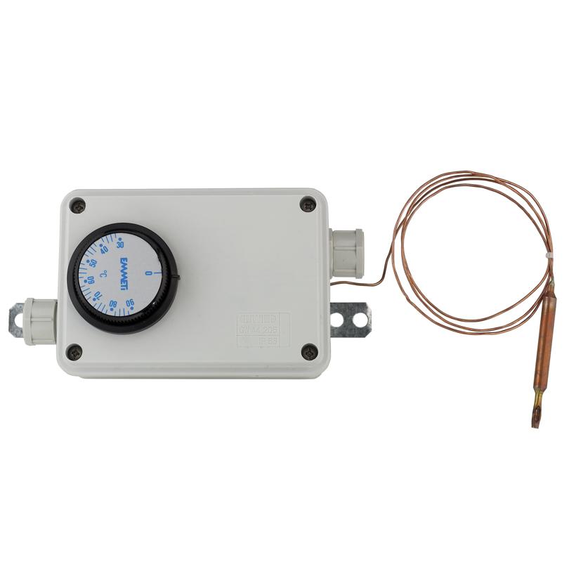 Scatola elettrica con termostato di sicurezza