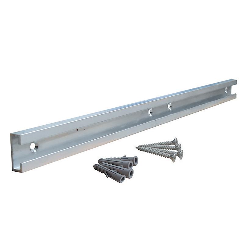 Binario in alluminio per supporti collettori