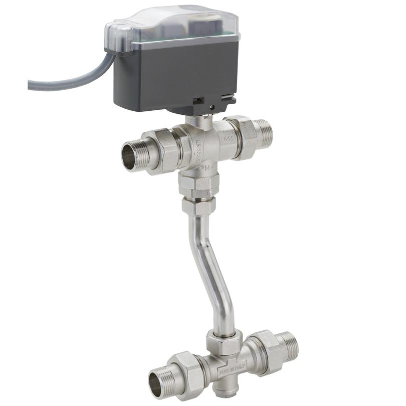 Modulo Compact deviatrice 4 vie interasse 190÷210 mm