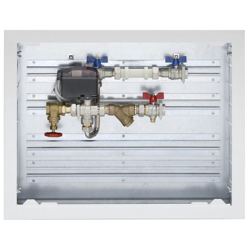 Energy Box Compact, valvola a 4 vie