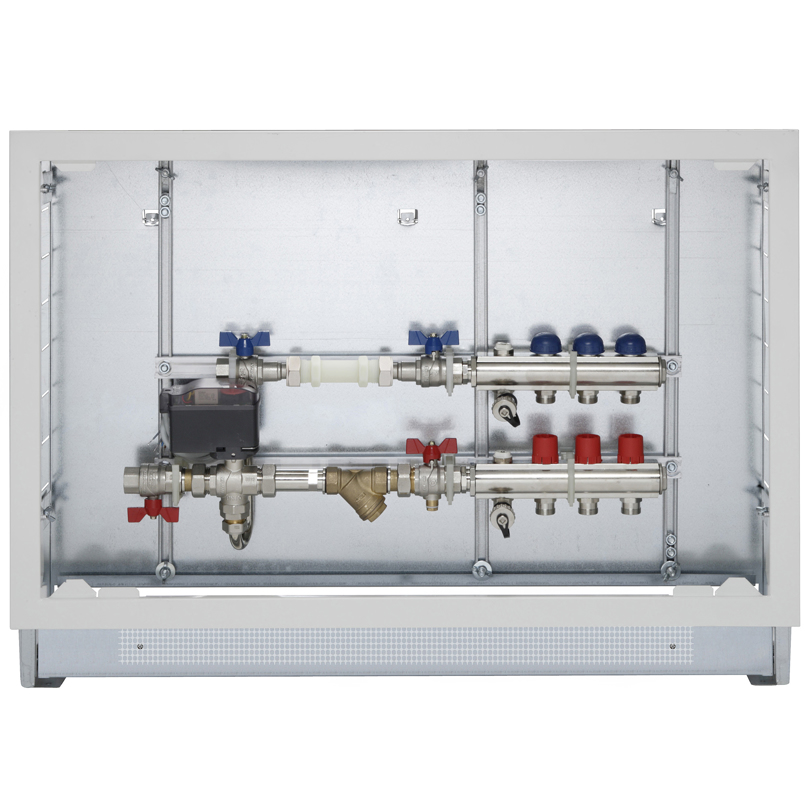 """Energy Box con collettori mandata-ritorno da 1"""""""