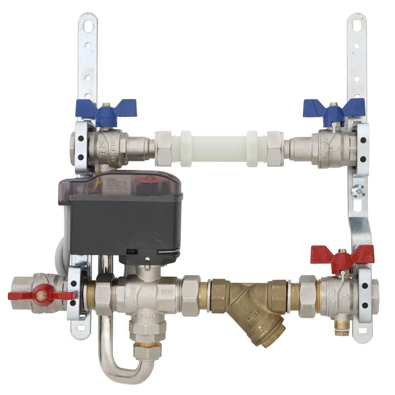 Energy Box, modulo singolo, valvola di zona a 4 vie
