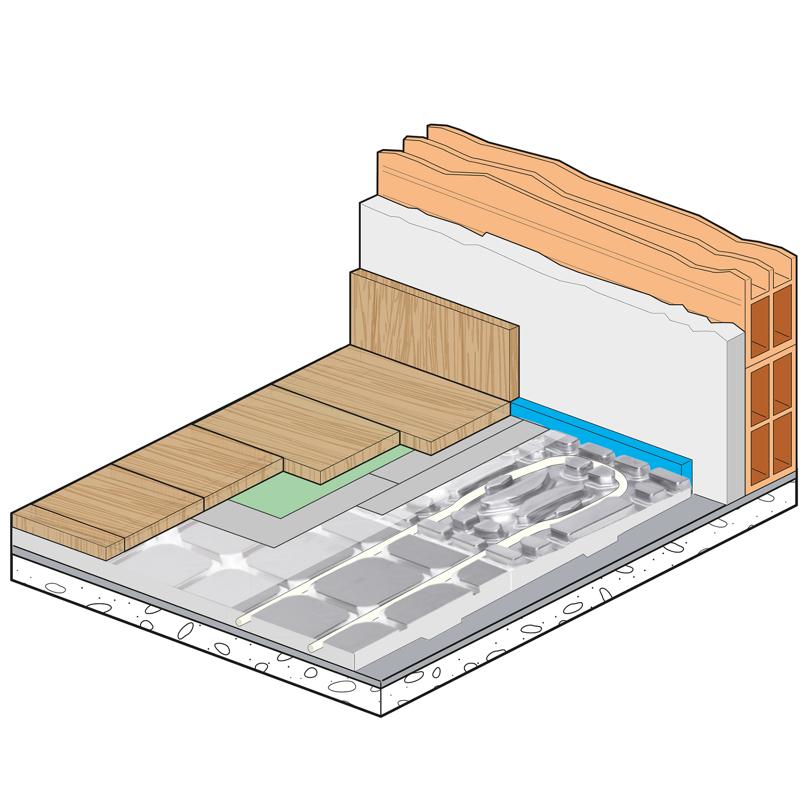 Sistema di asciugatura Dry Alu Floor
