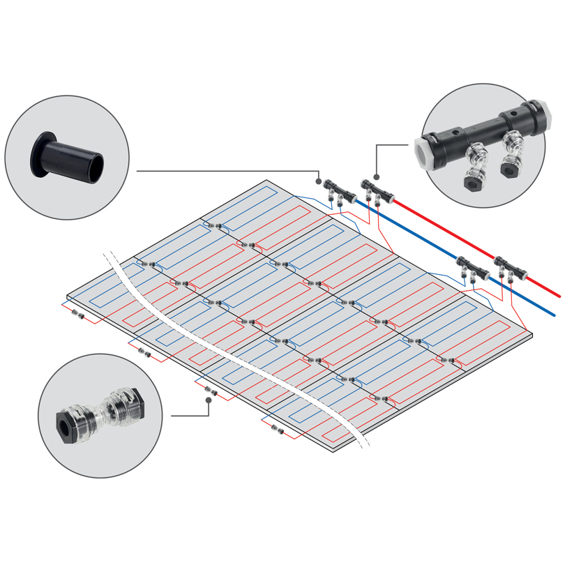 Sistema in moduli metallici Ray Module