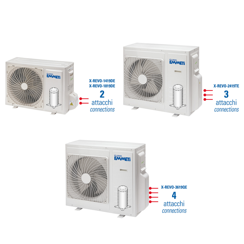 Unità esterna Multi Inverter X-REVO