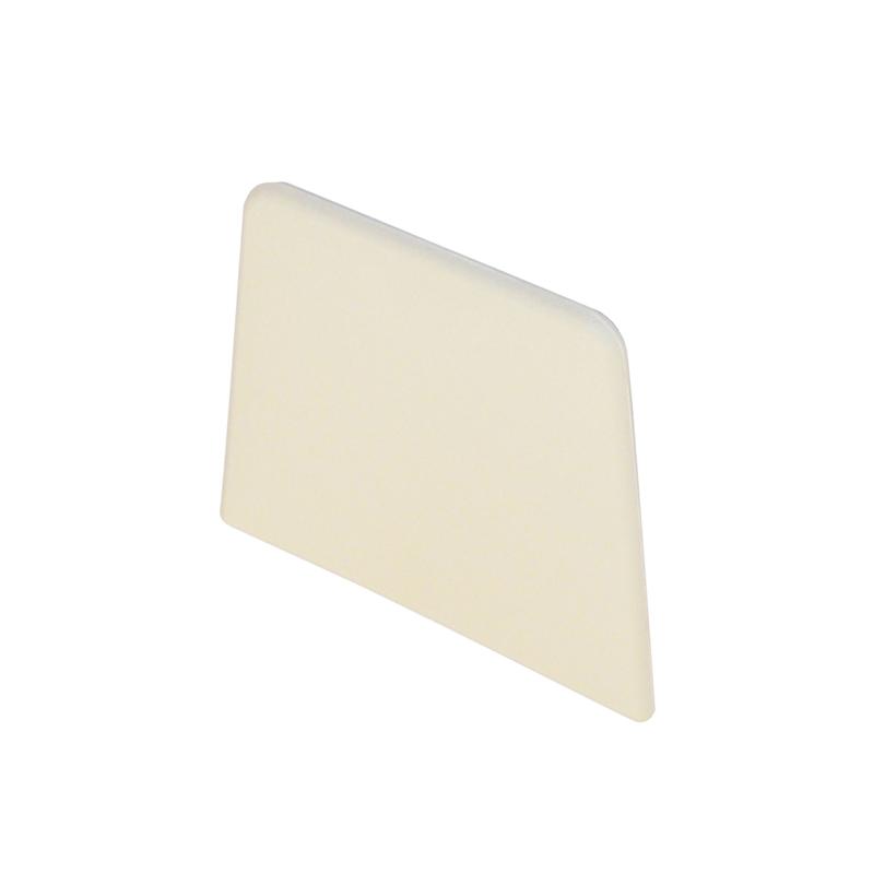 Tappo bianco di chiusura per base a pavimento