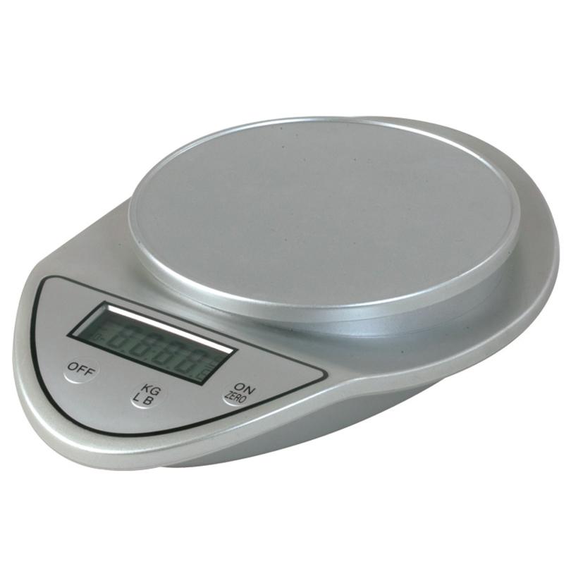 Bilancia elettronica a batteria fino a 5 kg