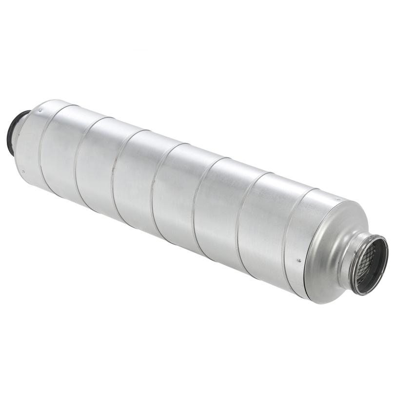 Silenziatore per tubazione di ingresso e uscita aria