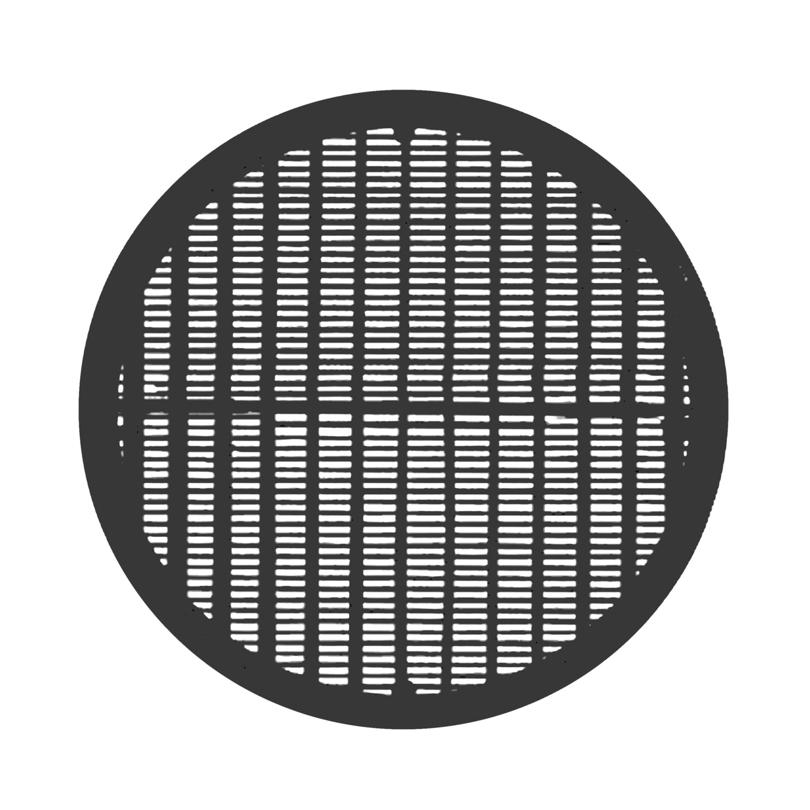 Filtro per bocchetta di immissione o estrazione