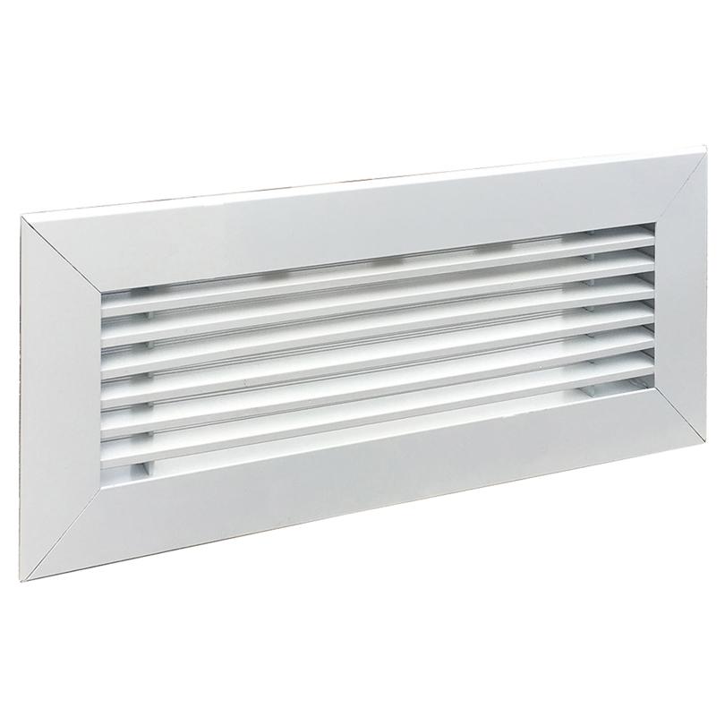 Griglia lineare bianco RAL 9010 - 300x100 mm