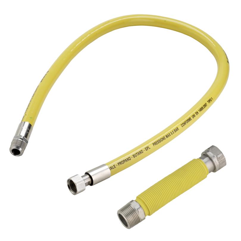 Connessioni per gas a muro