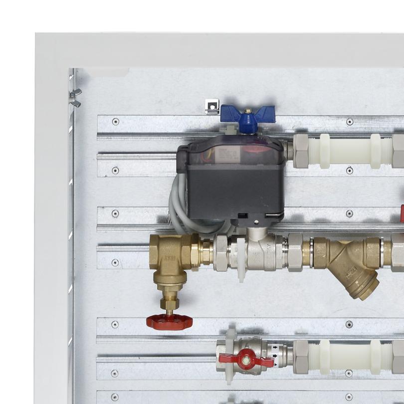 Moduli in cassetta senza collettori di distribuzione