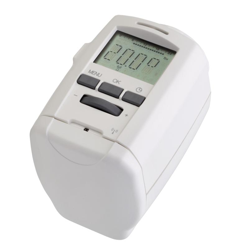 Attuatore cronotermostatico radiofrequenza