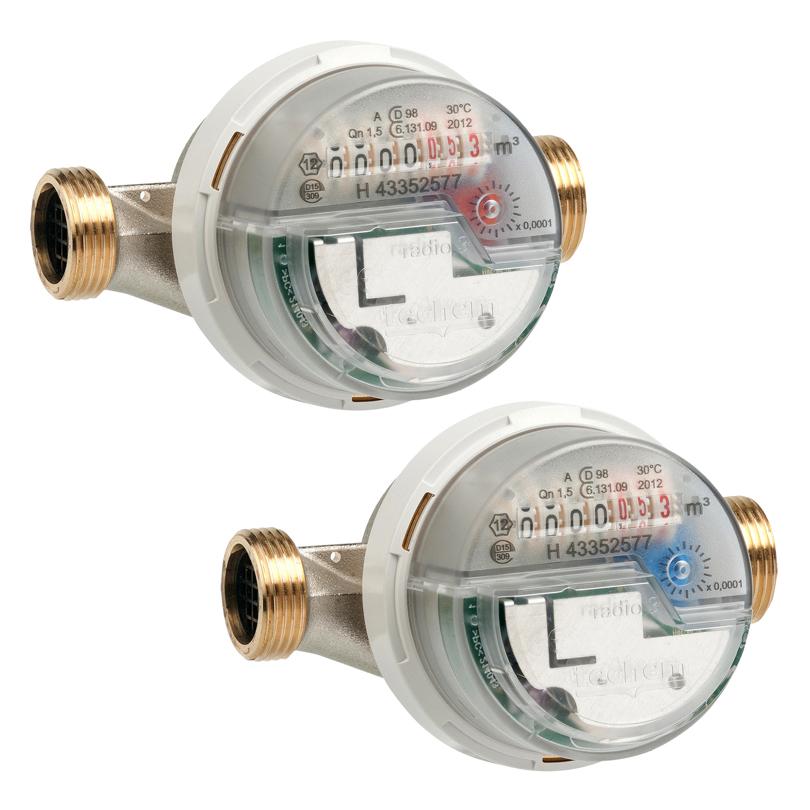 Contatori volumetrici acqua con trasmissione radio CMS