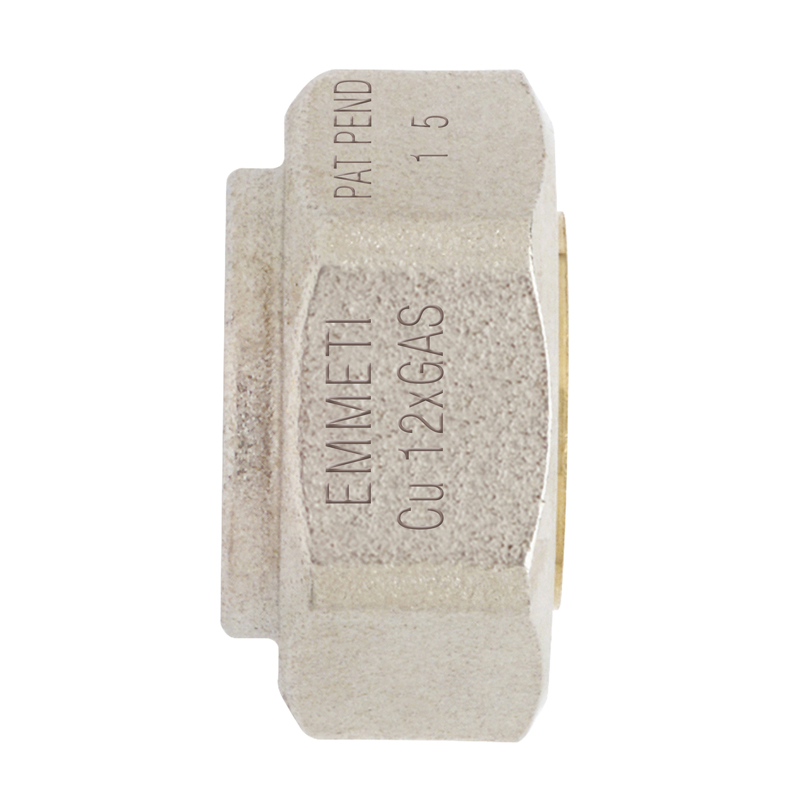 Tenuta monoblocco 24x19 per tubazioni in rame per gas