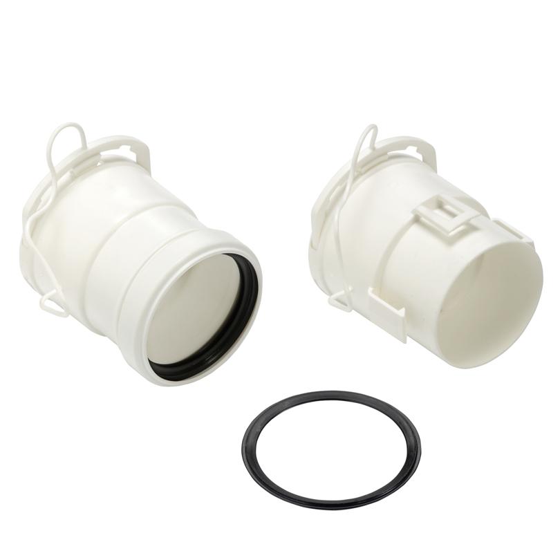 Kit adattatori per tubo flessibile