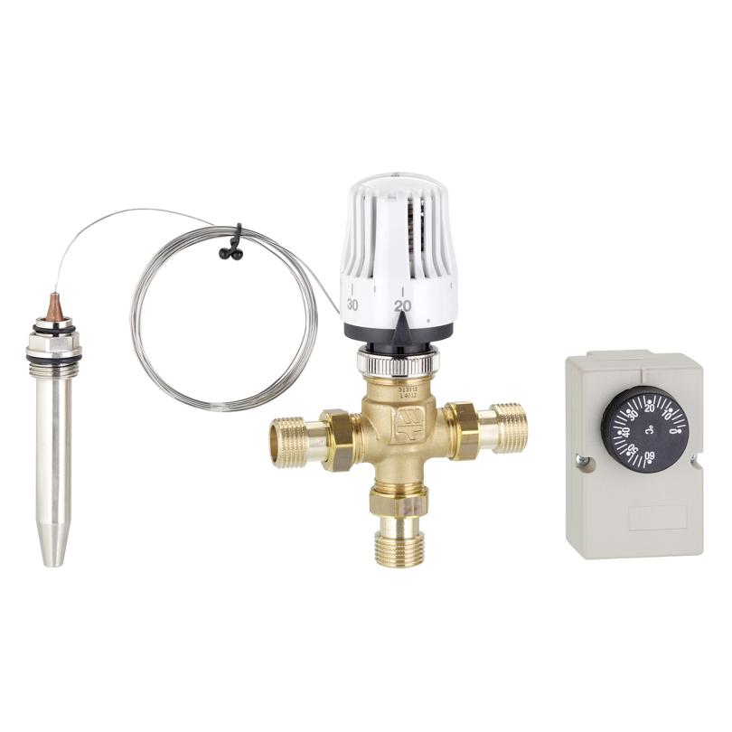 Kit regolazione termostatica