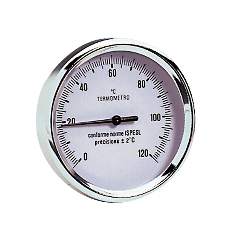 Termometro ad immersione completo di pozzetto