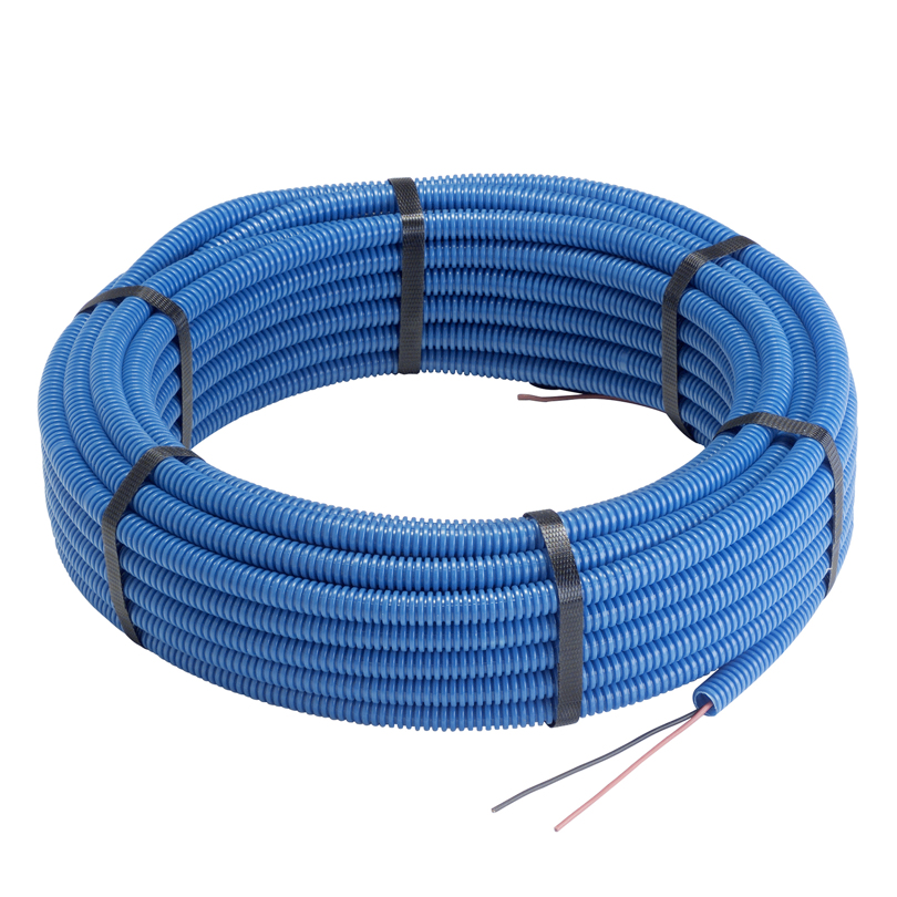 Guaina flessibile Ø 16 mm con cavi NO 7VK 2 x 1 mm²