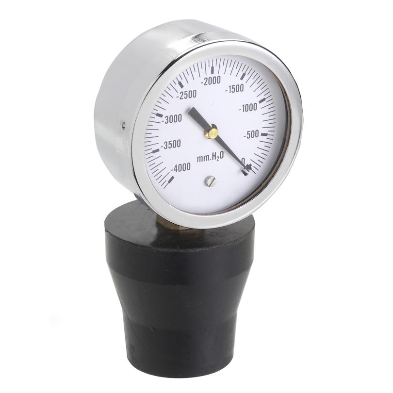 Vuotometro per il collaudo dell'impianto