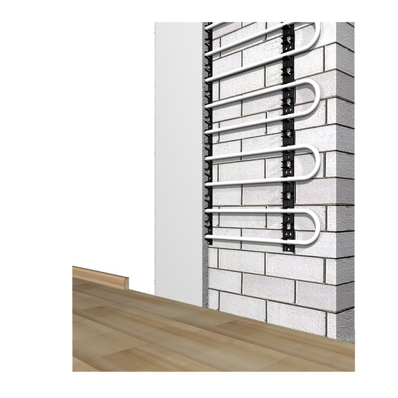 Impianto radiante a parete