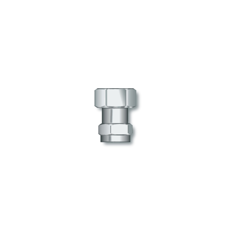 Straight connector M22