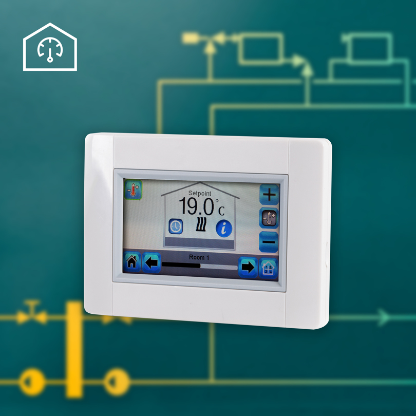 Electronic heating controls