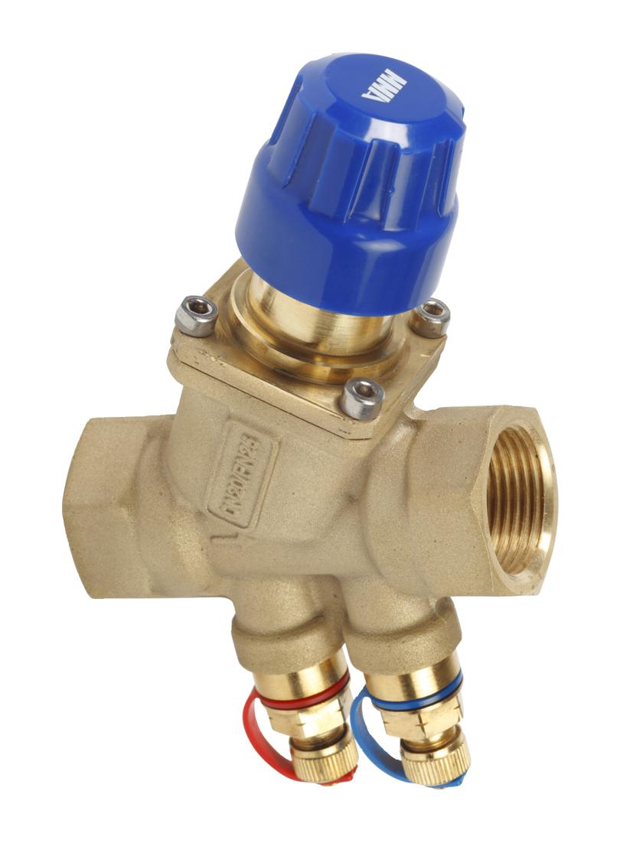 Dynamic control valve TOV threaded