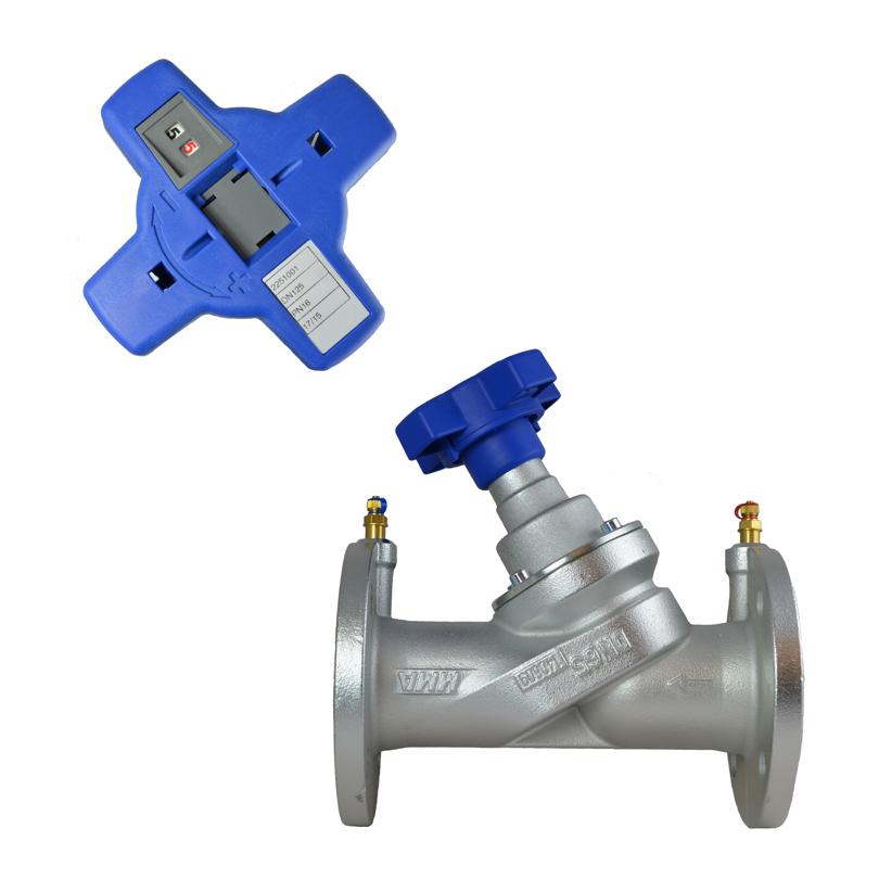 Balancing valve STV flanged
