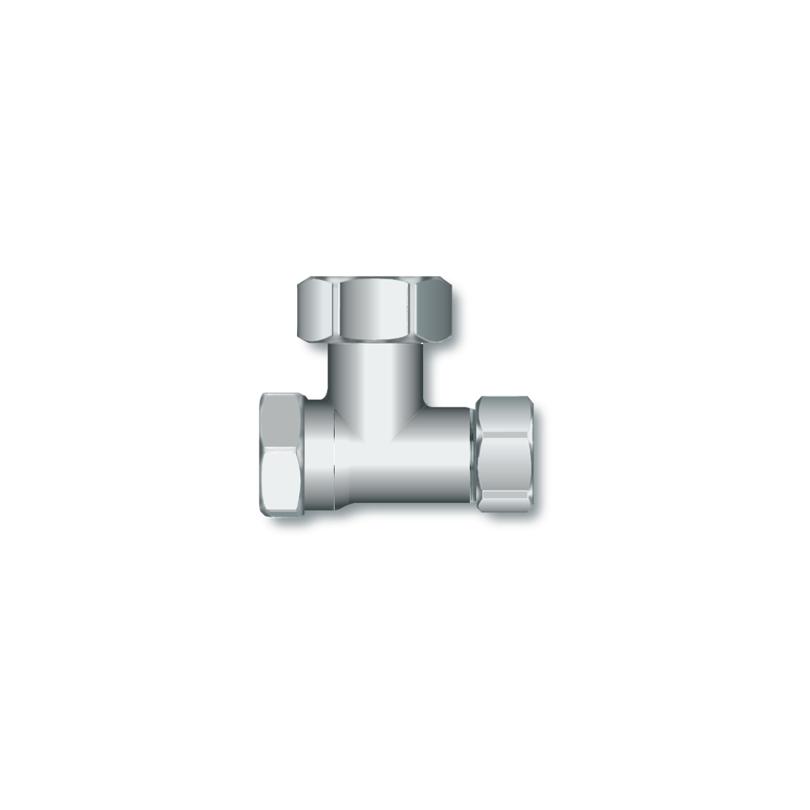 Angled shut-off valve EK