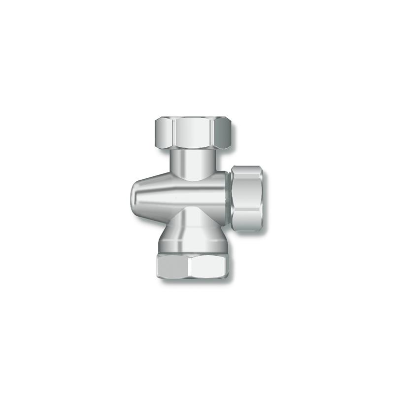 Straight shut-off valve AR