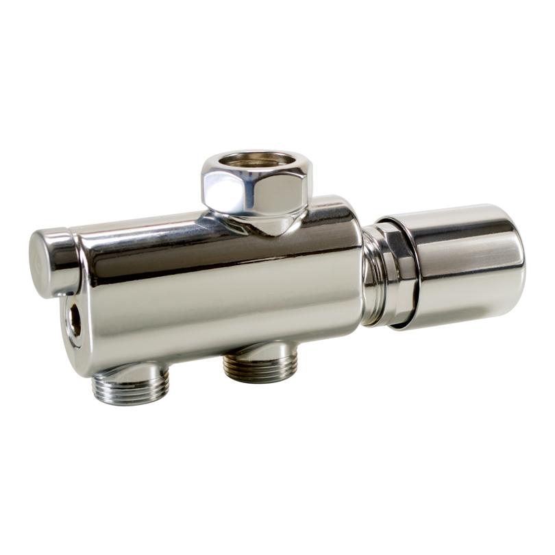 Single-hole valve PVB 1-2 pipe