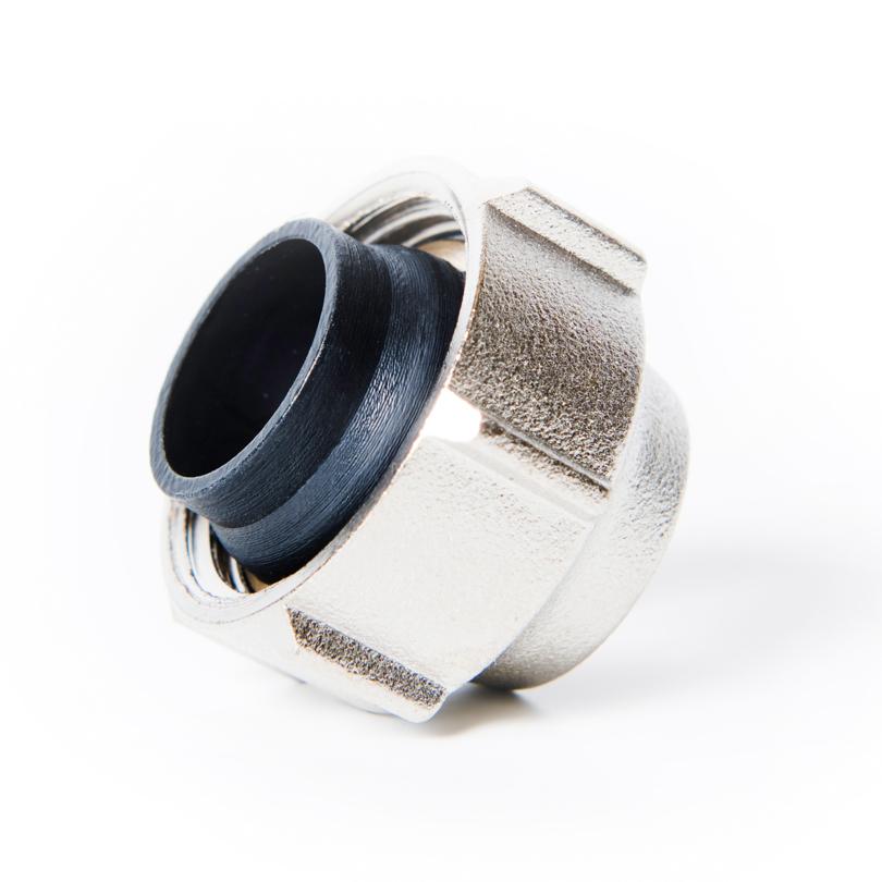 Eurocone G3/4 fitting, copper/steel
