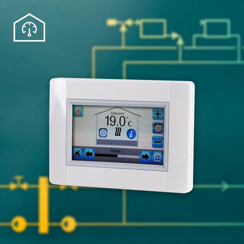 Electronic heating controls